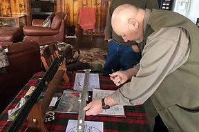 Keith Coyle Gun Fitting