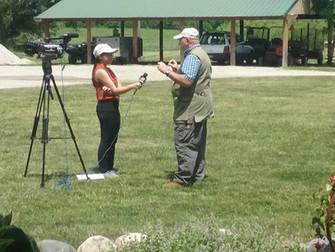 Kenya Ramirez of Wand TV News
