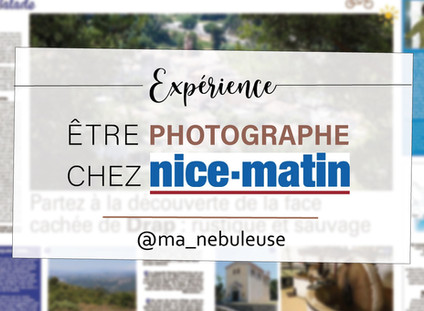 Être photographe chez Nice-Matin