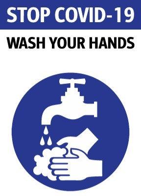 Wash-Your-Hands Decals