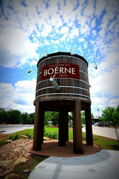 Welcome To Boerne Water Tower