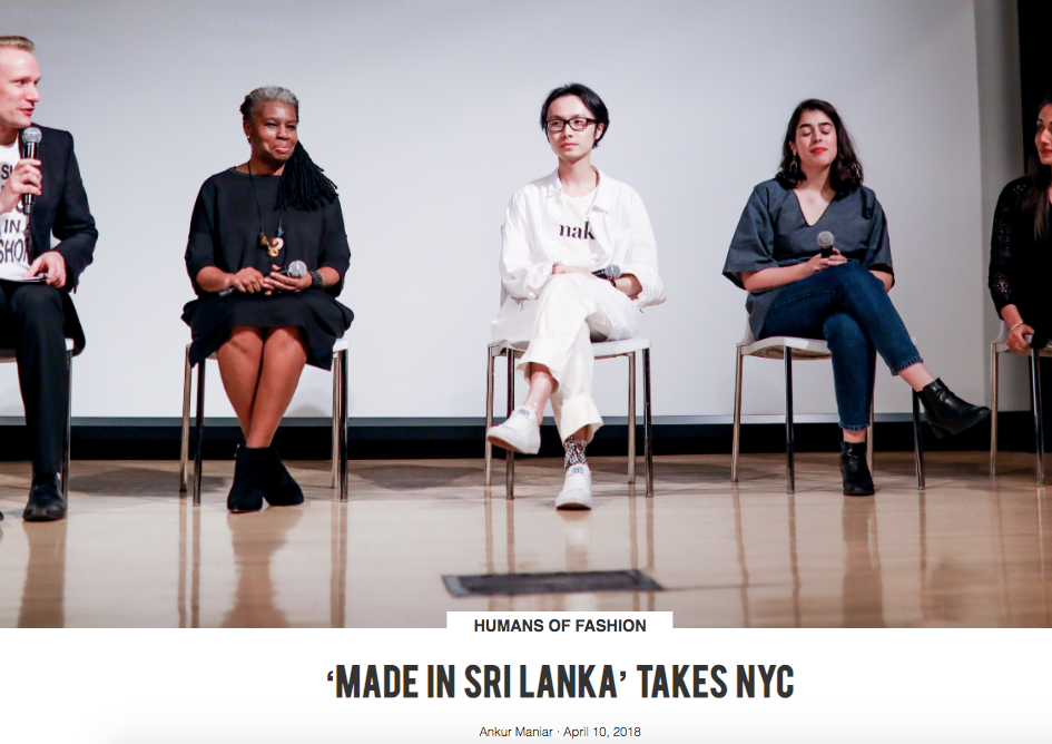 Made in Sri Lanka Takes NYC