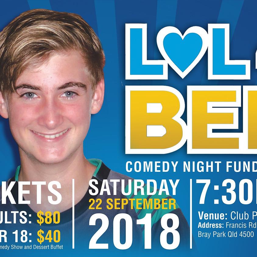 LOL 4 Ben - Comedy Fundraiser