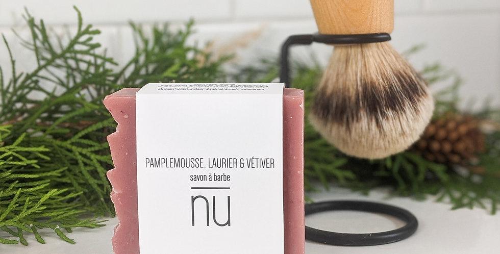 Savon à barbe - Vetiver pamplemousse & laurier
