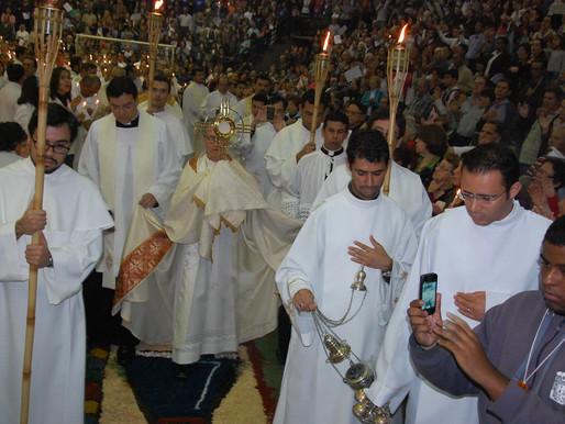 Festa de Corpus Christi será pela manhã