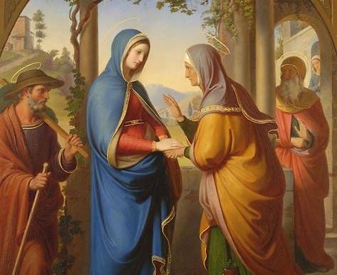 Por que Maria visitou Isabel?