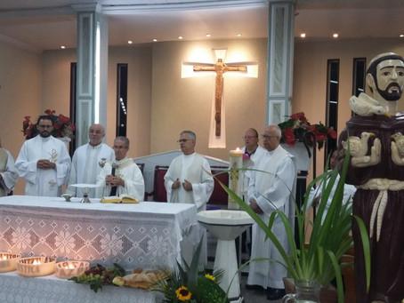 Celebração de abertura da 22ª Romaria das Águas e da Terra do Estado de Minas Gerais, na Arquidioces