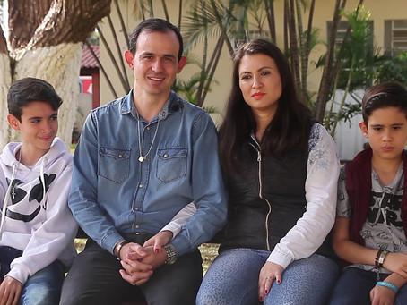 Testemunho Vocacional: Família Teixeira Santos   Vocação Familiar