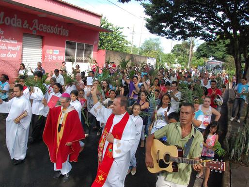 Celebração de Ramos abre Semana Santa
