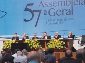 TEVE INÍCIO A 57ª ASSEMBLEIA GERAL DA CNBB EM APARECIDA
