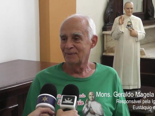 Palavra de Mons. Geraldo Magela sobre o Bem-aventurado Eustáquio
