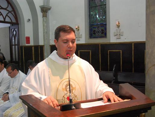 Missa envia padre Geraldo para nova missão