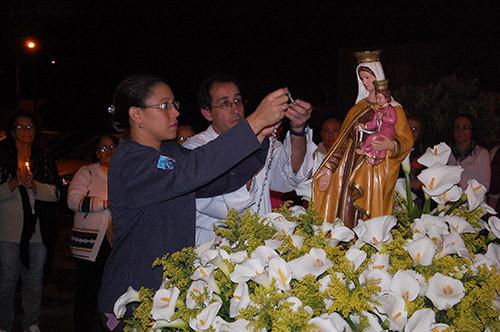 Encerrada a festa de N. S. do Carmo na Ressurreição