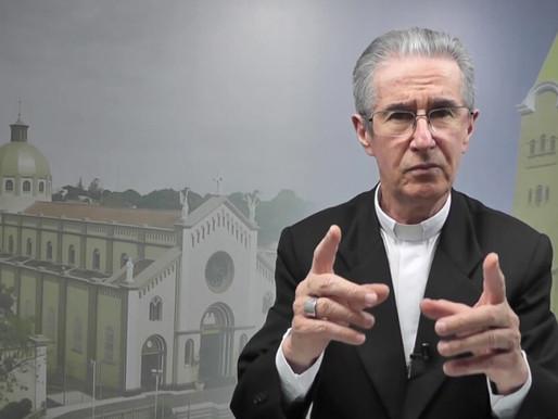 Dom Paulo convida para a festa de Nossa Senhora D'Abadia em Uberaba