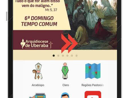 Novo aplicativo da Arquidiocese de Uberaba está no ar