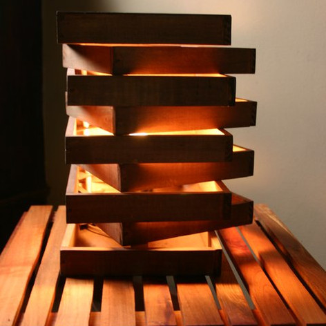 Wood Lamp, Chile