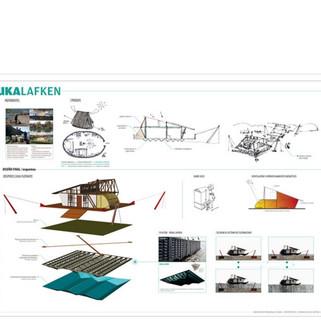 Tsunami house, architecture contest, Chile