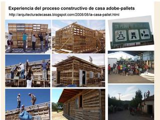 """Vivienda Básica """"Digna"""" de Pallet y material reciclado"""