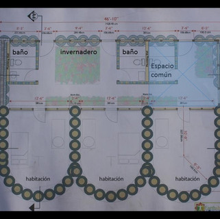 Earthship plan, Argentina