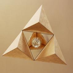 Triad, mobile lamp, Belgium