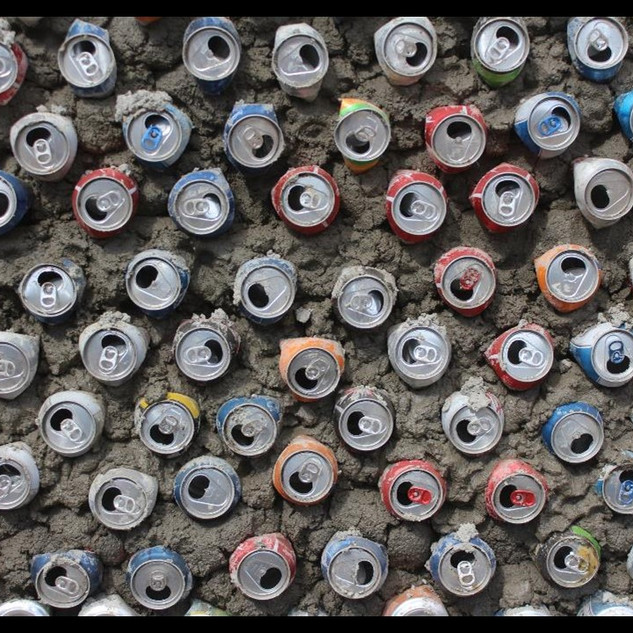 recycling can wall,Argentina