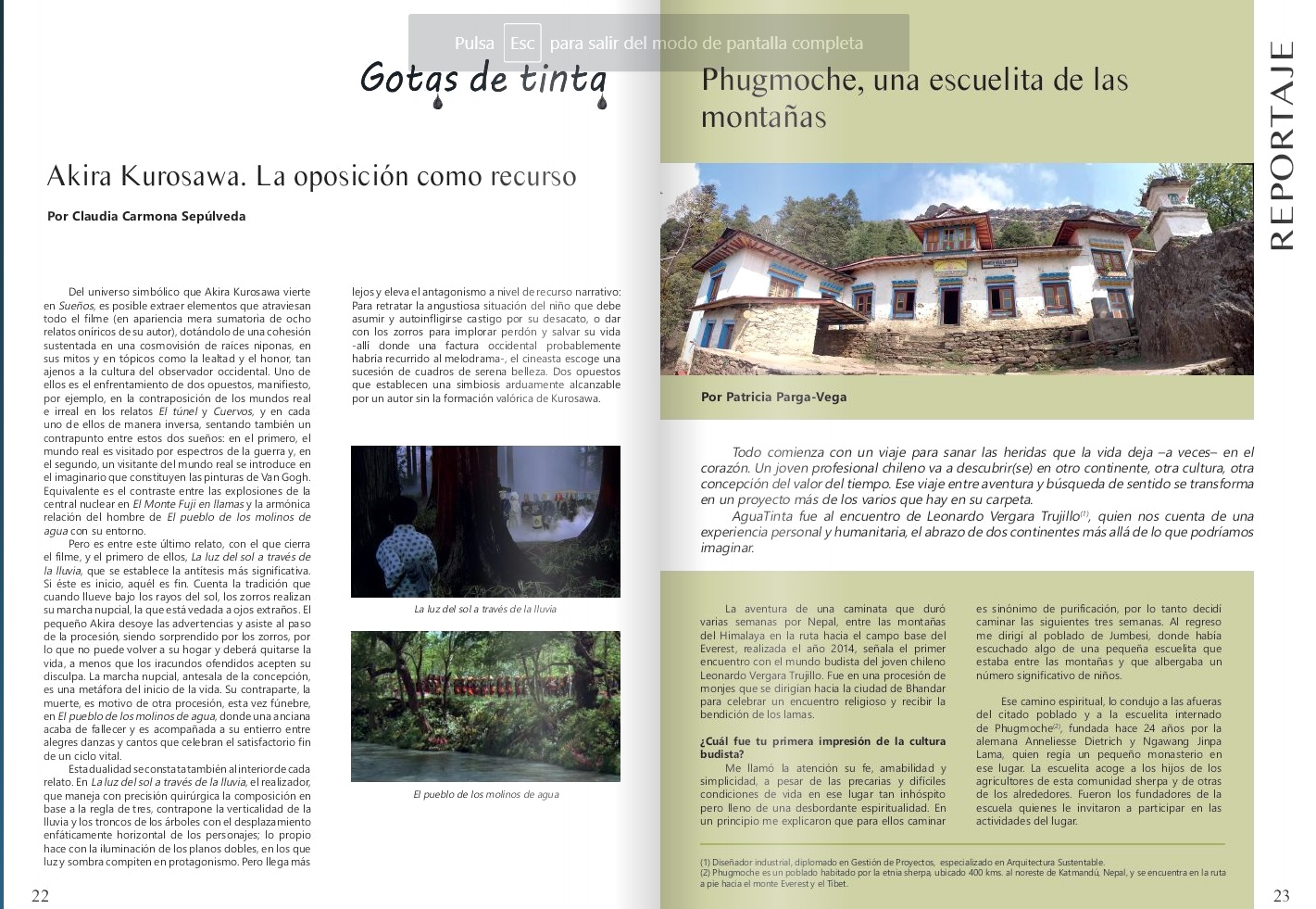Revista Aguatinta