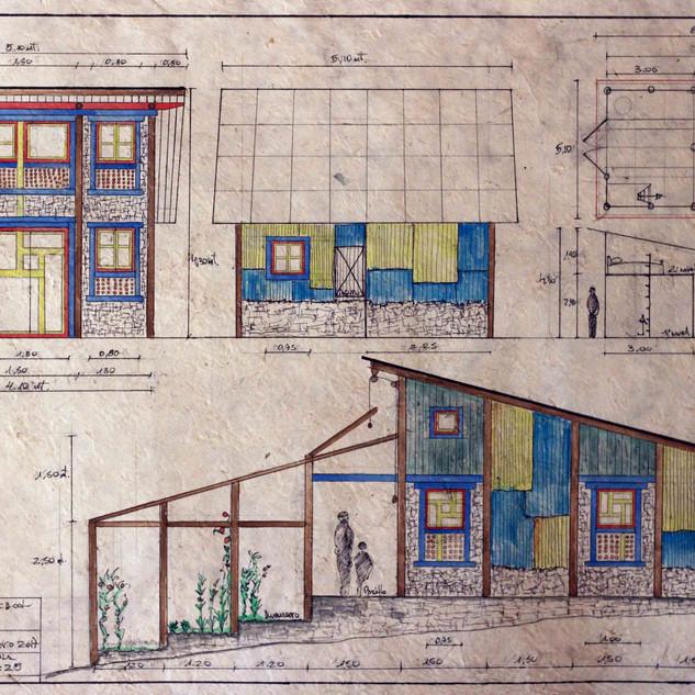 plan of carpentry workshop, Nepal