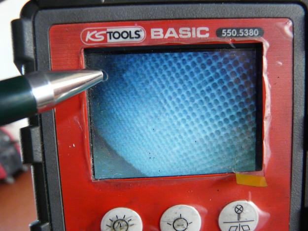 Fehlersuche mit Endoskop