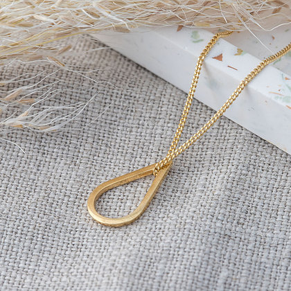 SMALL TEARDROP NECKLACE