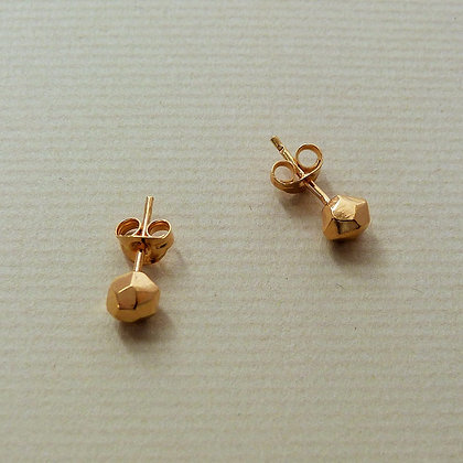 MINI METEORITE STUD EARRINGS