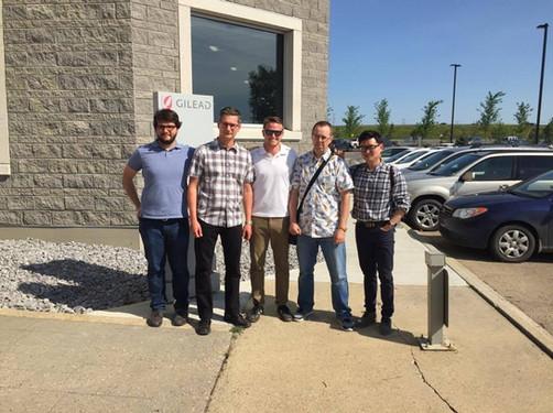 Group trip to Gilead in Edmonton!