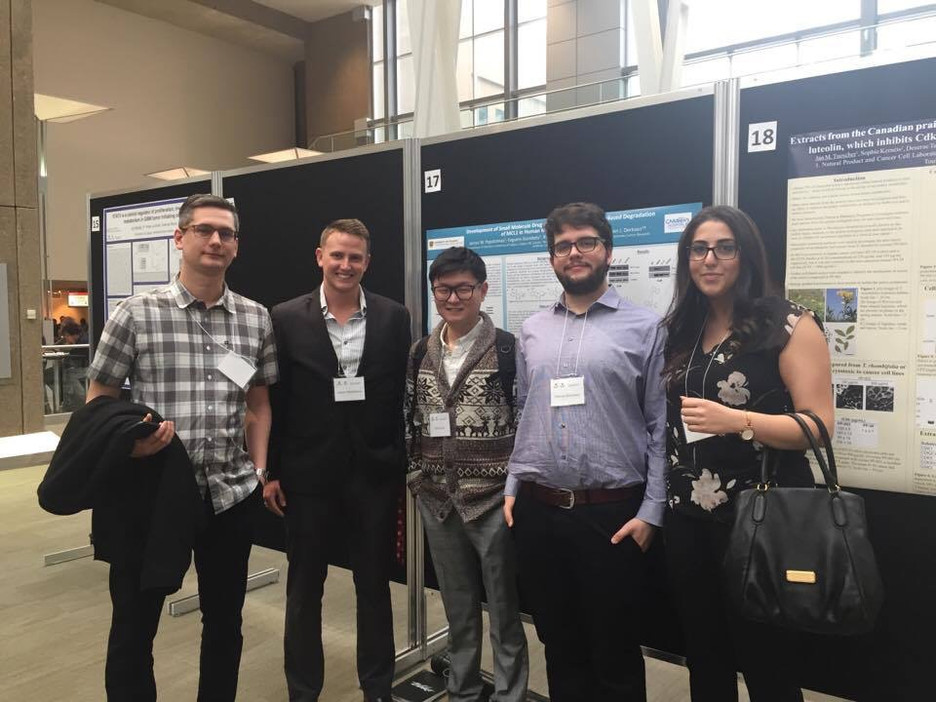 Poster Presentation by James Papatzimas at the 2017 Charbonneau Cancer Research Conference