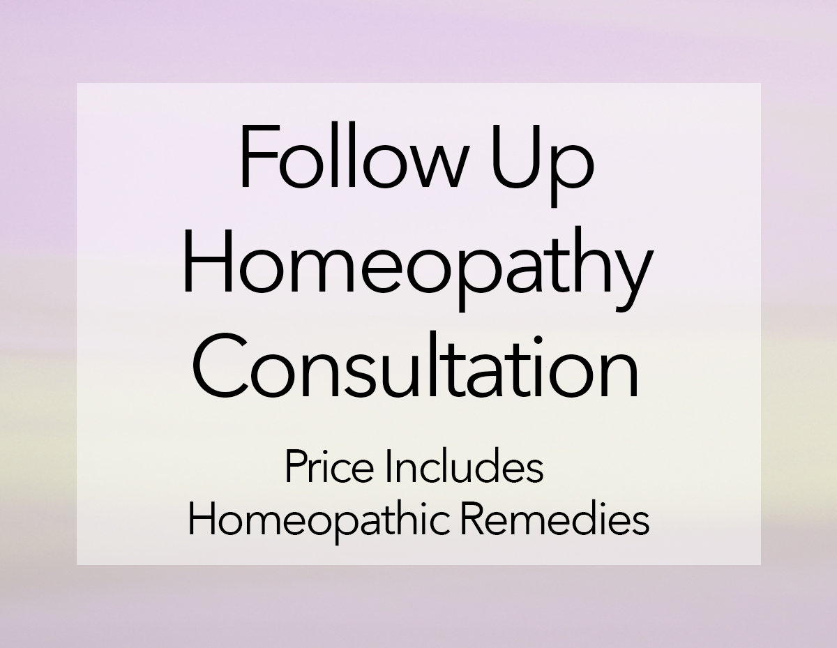 Homeopathy Follow Up - Online