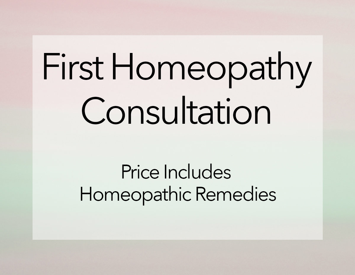 First Homeopathy Consultation - Online