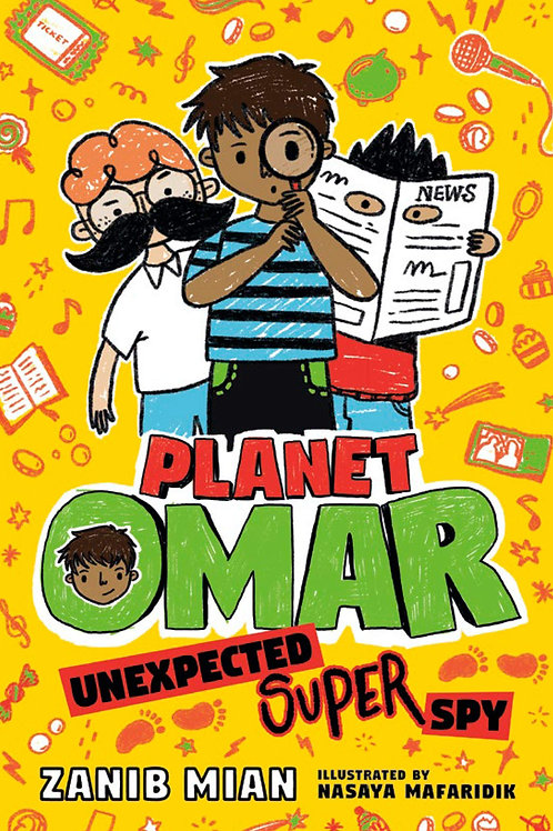 Unexpected Super Spy (Planet Omar Series #2)