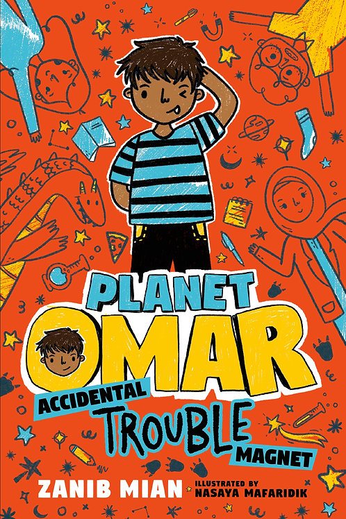 Accidental Trouble Magnet (Planet Omar Series #1)
