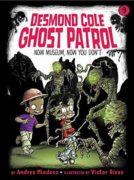 Now Museum, Now You Don't (Desmond Cole Ghost Patrol Series #9)