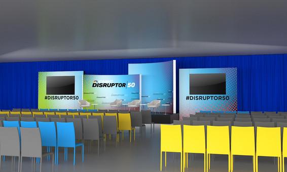 CNBC Disruptor - Stage Render