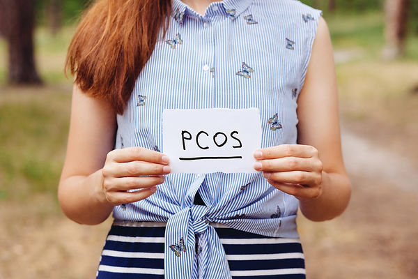 PCOS - Polycystic ovary syndrome, woman