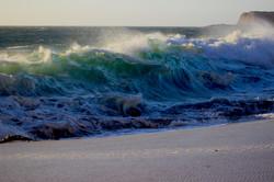 Ocean Wave on Shore