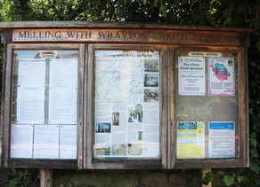 Melling-with-Wrayton Parish Council Noticeboards