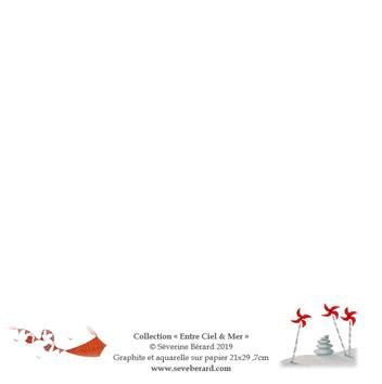 CERF-VOLANT - Dos de la carte