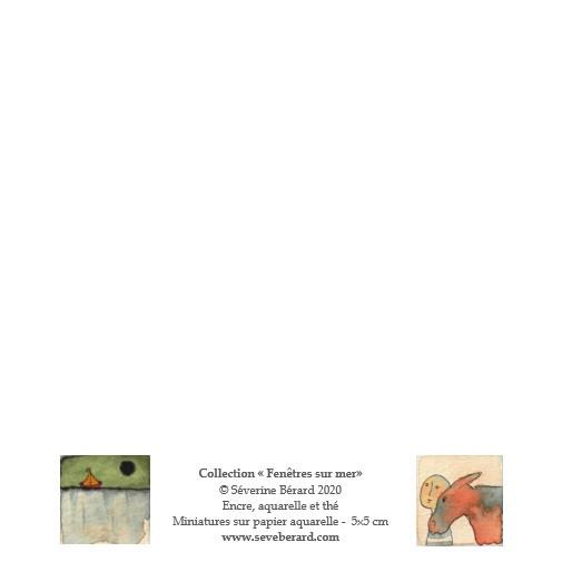 DUO ÂNE & BATEAU - Dos de la carte