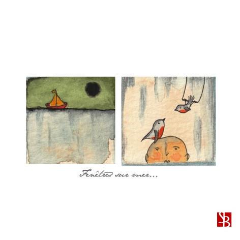 DUO Bateau & oiseaux