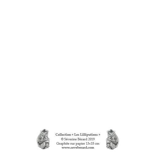 LES GIBBONS - Dos de la carte