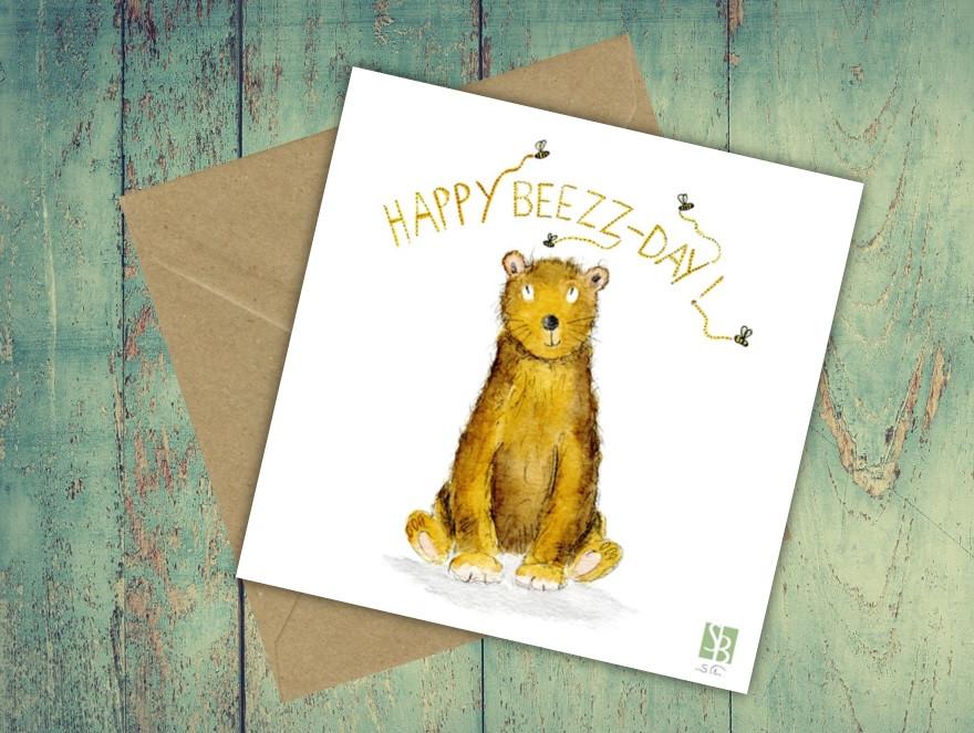 HAPPY BEEZZ-DAY !