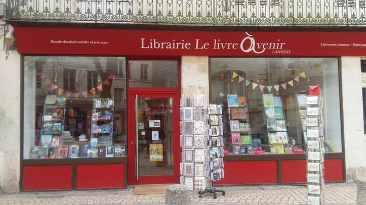 Librairie Le livre à venir - L'Annexe