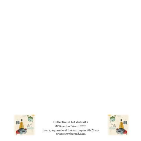 CARRELET LIBERTE - Dos de la carte