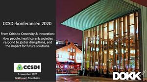 Program CCSDI-konferansen 2020