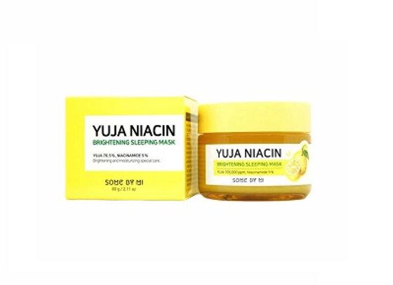 Korean Cosmetic Yuja Niacin 30 Days Miracle Brightening Sleeping Mask 60g